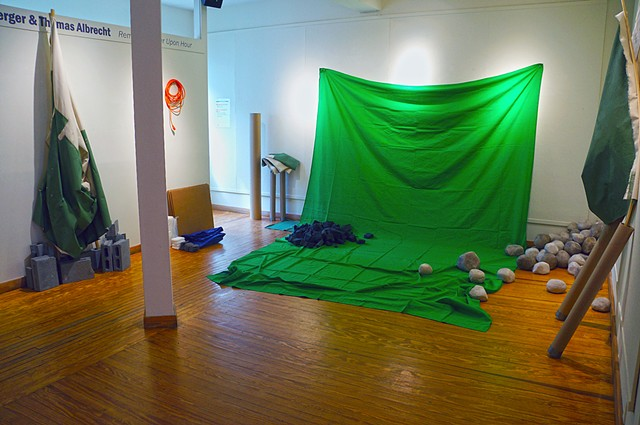 Installation view: before the first performance (Daylight)