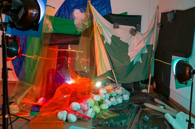 Installation: performance aftermath (Sunrise)