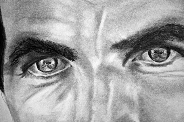 Staring Contest #2 (detail)