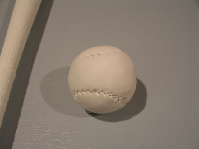 Porcelain Baseball (detail)