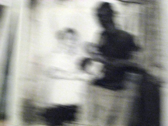 Hospital Polaroids, C-print of drawing, 12 x 12 in.