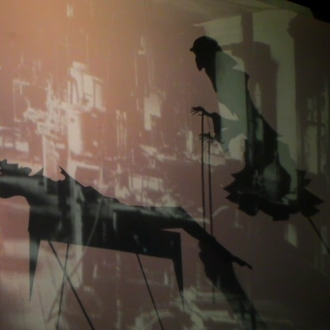 The Land of Shadow:  Puppet Installation; stills from opening night