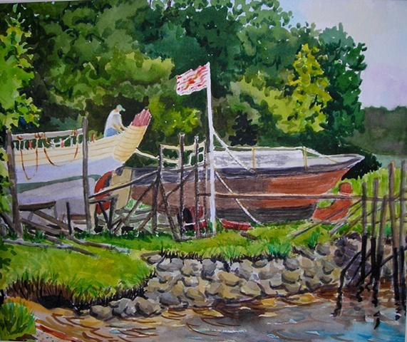 Essex Boatyard