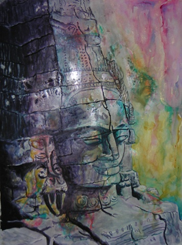 Buddha with Hindu Diety