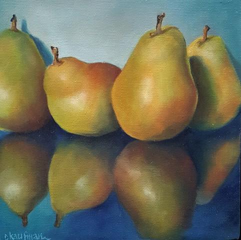 Reflective Pears