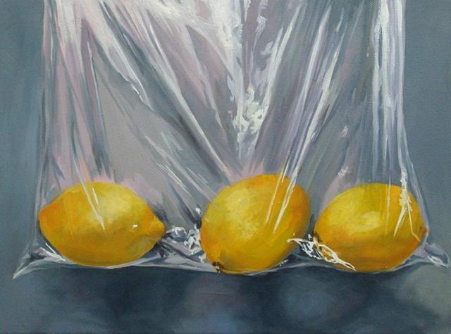 Lemons in Plastic