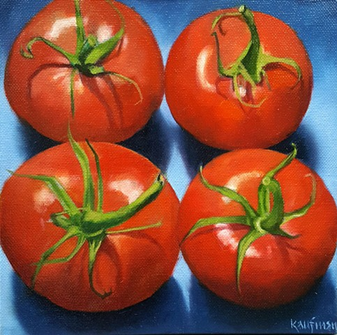 Four Tomatoes Squared