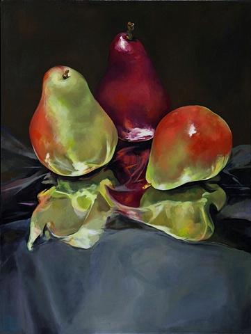 Pears on Foil