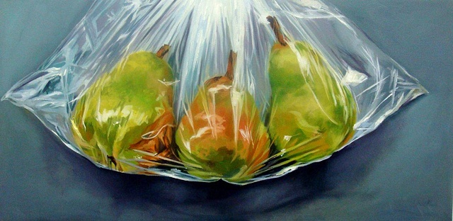 Pears in a Bag