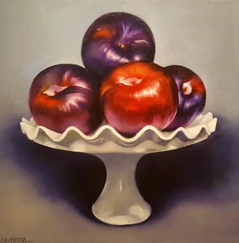 plums on a Pedestal