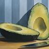 Avocado and Knife