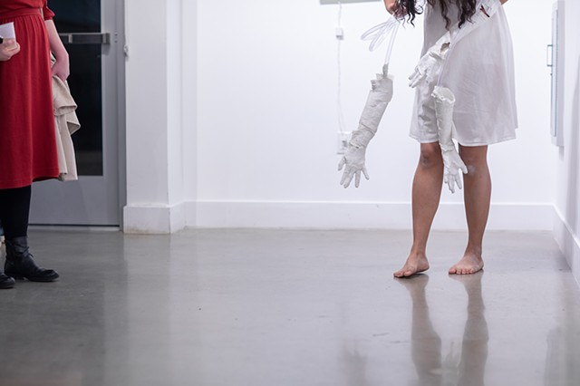 Cyborg Divinations Performance Still 4