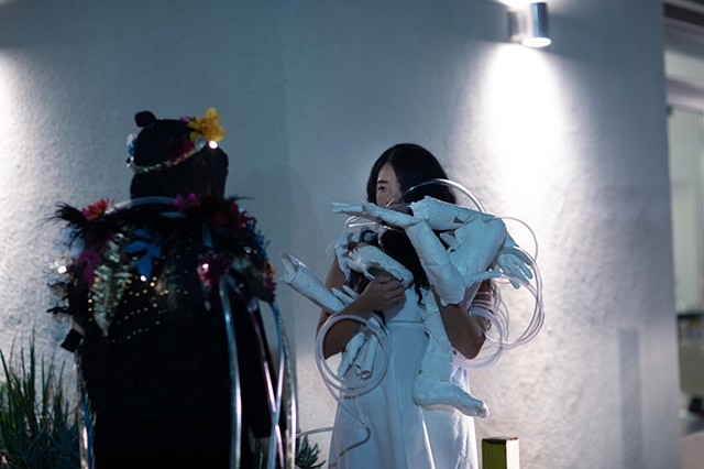 Cyborg Divinations Performance Still 13