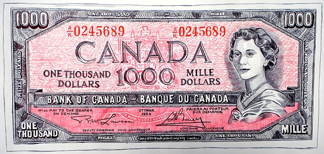 CANADIAN $1000