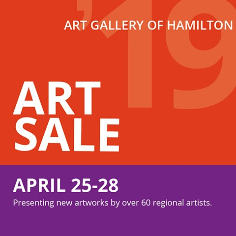 Art Gallery of Hamilton Art Sale