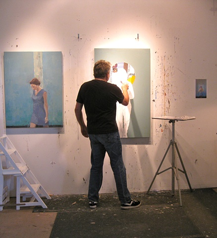 "Working on ""Halo"" with ""Connection"" next to it - 2010"