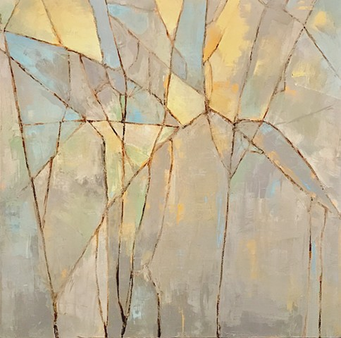 Birch oil on canvas T R E E S C A P E   Richard Garrison