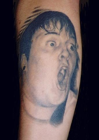 Jordan Wodehouse tattoo by Danny Gordey