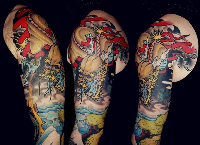 tattoo by Danny Gordey
