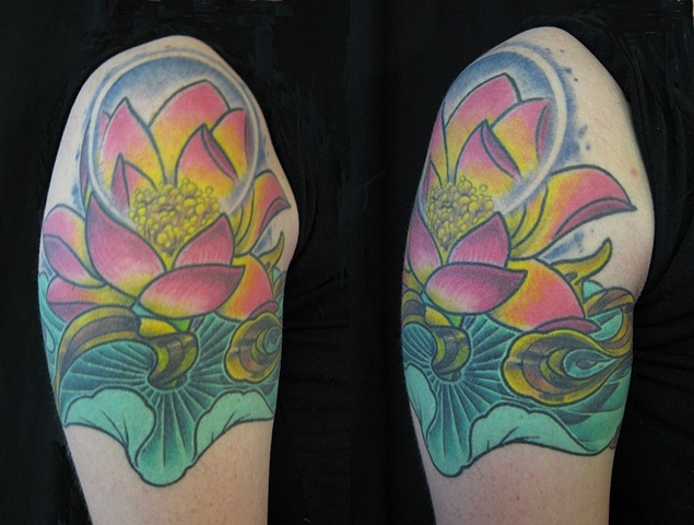tattoo by Danny Gordey  2005 Cover-up