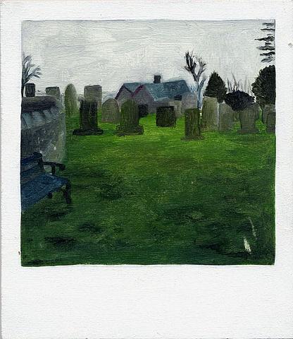 Untitled (Graveyard ouside Bridge of Allen)