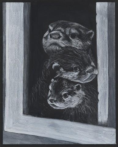 Otter pile