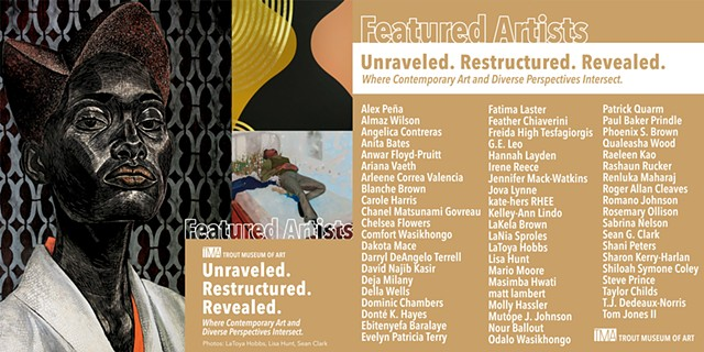 Unraveled. Restructured. Revealed. Where Contemporary Art and Diverse Perspectives Intersect.