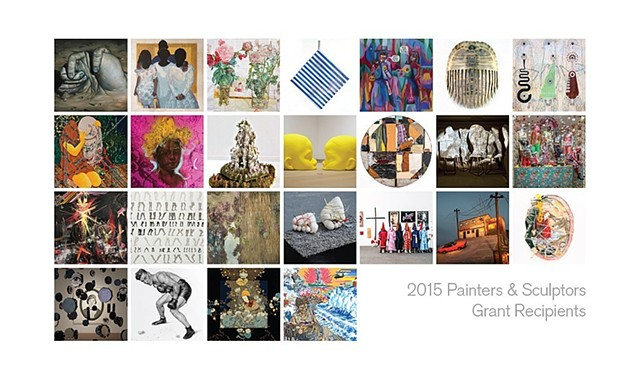 Joan Mithchell Foundation 2015 Painters & Sculptures Grant Recipients