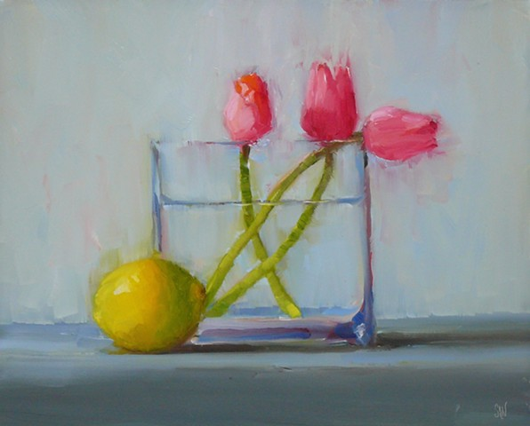 Tulips with Lemon