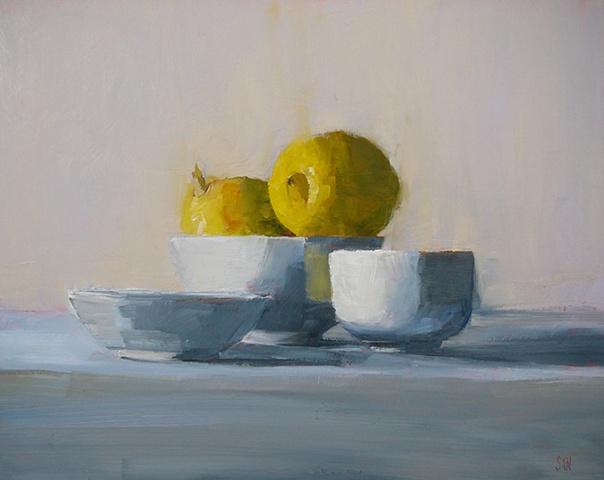 Lemon Perched