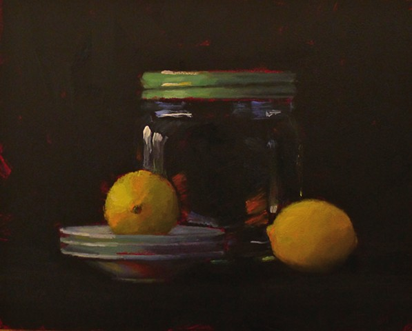 Big Jar with Lemons