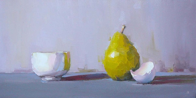 Pear and Eggshell