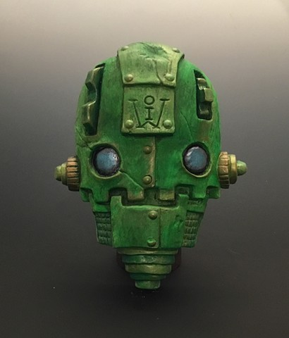 "Impossible Winterbourne  ""Skull Bots"" Green"