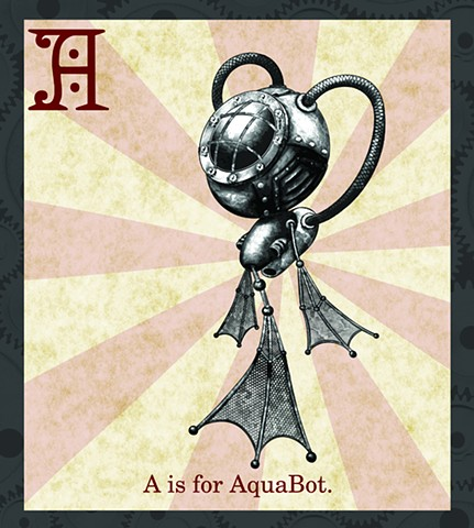 AquaBot Propaganda Limited Edition