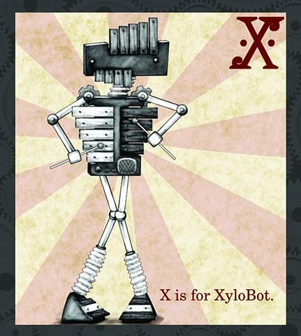 XyloBot Propaganda  Limited Edition