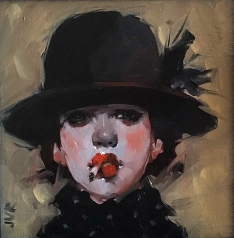 """Girl With Hat"""