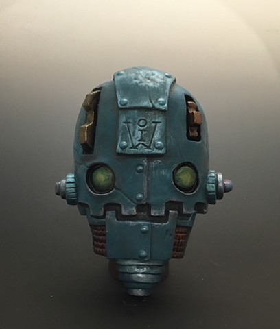 "Impossible Winterbourne  ""SkullBots"" Blue"
