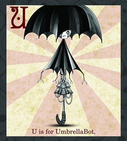 UmbrellaBot Propaganda  Limited Edition
