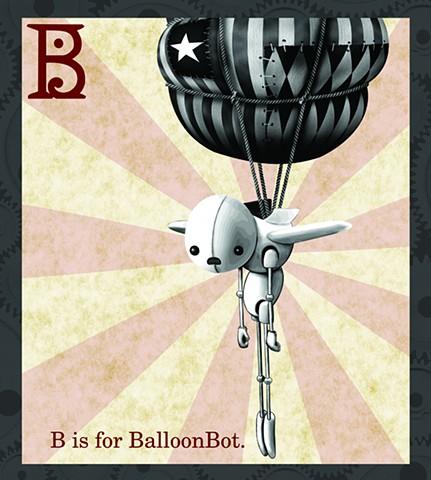 BalloonBot Propaganda  Limited Edition