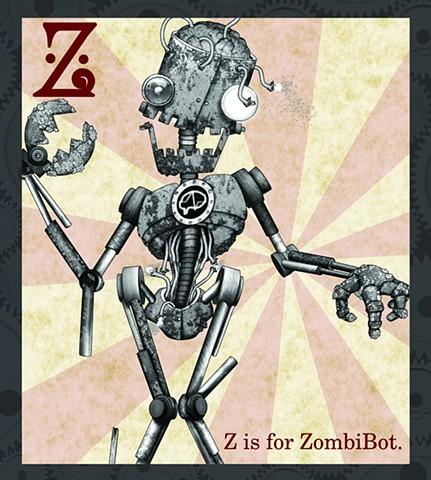 ZombiBot Propaganda  Limited Edition