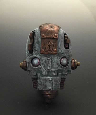 "Impossible Winterbourne  ""Skull Bots"" Bronze"