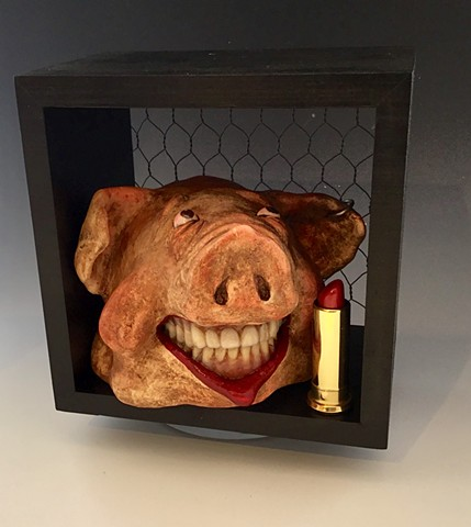 "SOLD Denise Bledsoe ""Lipstick On A Pig"""
