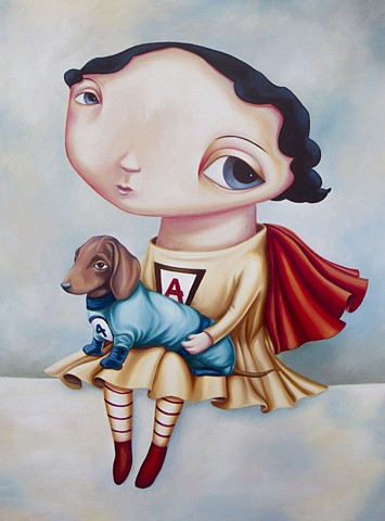 "Rachel Favelle ""Super Self and Cindy"""