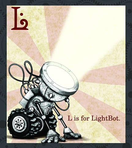 LightBot Propaganda  Limited Edition