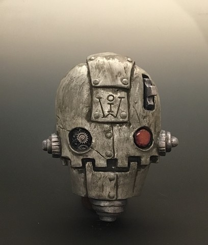 "Impossible Winterbourne  ""Skull Bots"" Pewter"