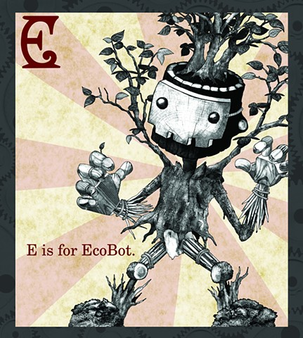 EcoBot Propaganda  Limited Edition