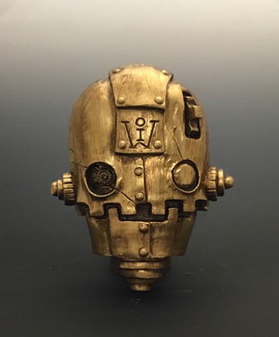 "Impossible Winterbourne  ""SkullBots"" Gold Limited Edition"