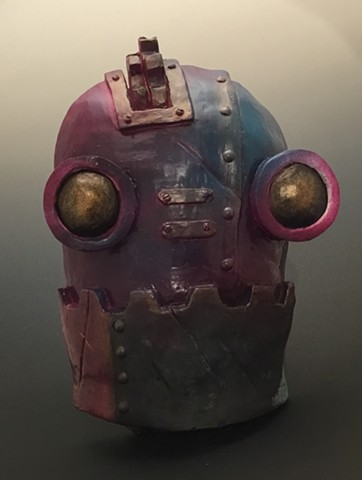 "Impossible Winterbourne  ""SteamBot Face"" Purple, Blue"