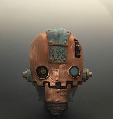 "Impossible Winterbourne  ""SkullBot"" Copper"