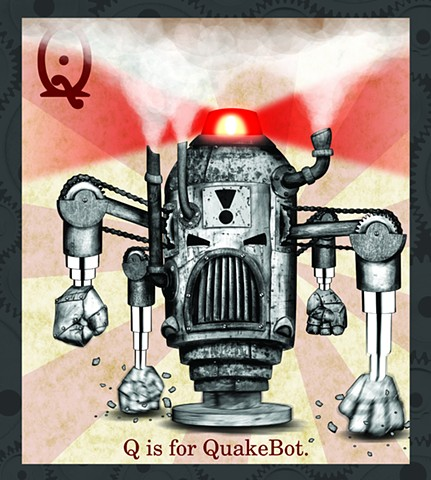 QuakerBot Propaganda  Limited Edition